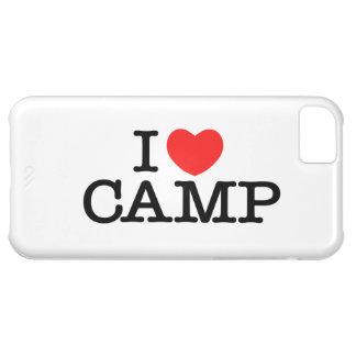 I LOVE CAMP iPhone Case iPhone 5C Case