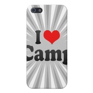 I love Camp iPhone 5 Cover