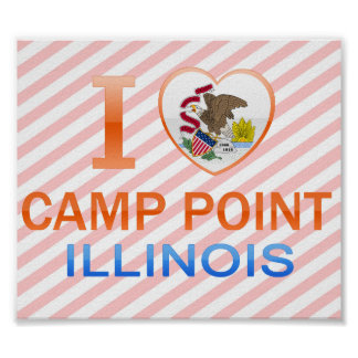 I Love Camp Point, IL Poster