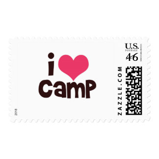I Love Camp Stamps