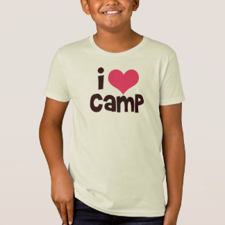 I Love Camp T-shirt