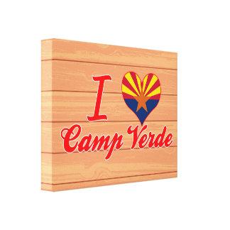 I Love Camp Verde, Arizona Canvas Prints