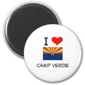I Love CAMP VERDE Arizona Magnet