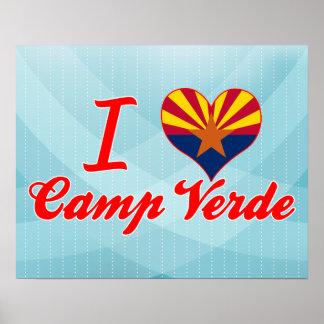 I Love Camp Verde, Arizona Posters