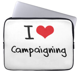 I love Campaigning Computer Sleeve