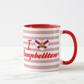 I Love Campbellton, Florida Mug