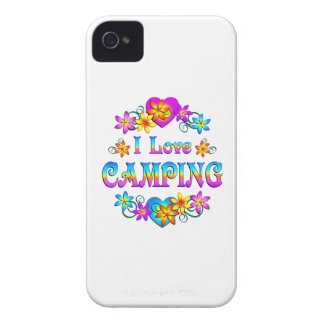 I Love Camping iPhone 4 Cases