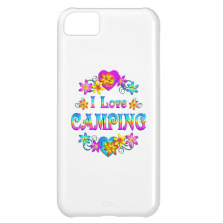 I Love Camping iPhone 5C Cases