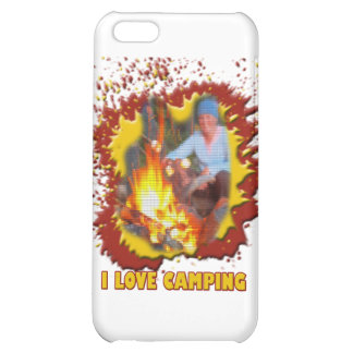 I Love Camping Fire Spark iPhone 5C Case