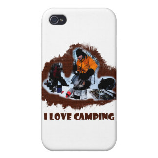 I Love Camping Frozen Toes iPhone 4 Cases