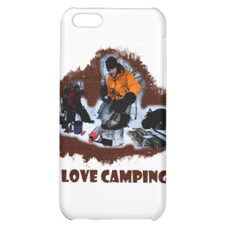 I Love Camping Frozen Toes Case For iPhone 5C