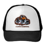 I Love Camping Frozen Toes Trucker Hat