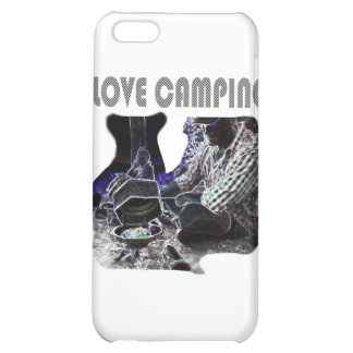 I Love Camping Grilling Case For iPhone 5C