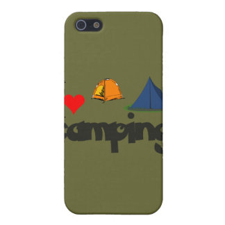 I love Camping Case For iPhone 5