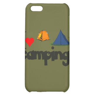 I love Camping Cover For iPhone 5C