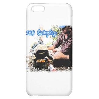 I Love Camping Iron Skillet iPhone 5C Case