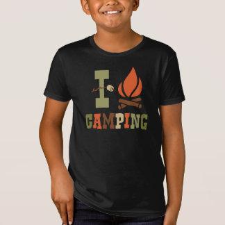 I Love Camping Kids T-Shirt
