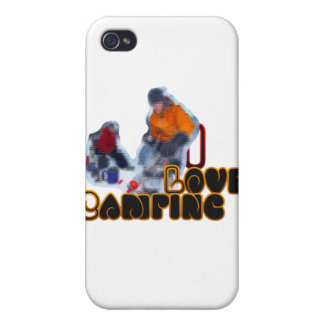I Love Camping Morning Brew iPhone 4/4S Covers