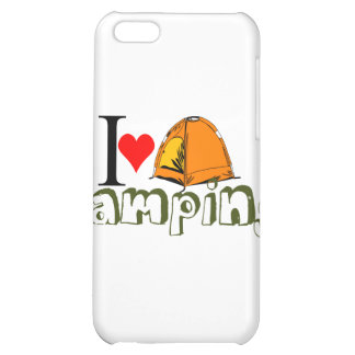 i love camping png iPhone 5C covers