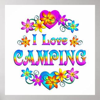 I Love Camping Print