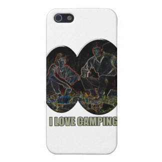 I Love Camping Scary Stories iPhone 5 Case