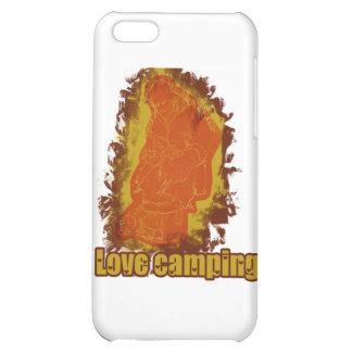 I Love Camping Smoldering Smoke iPhone 5C Cases
