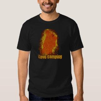 I Love Camping Smoldering Smoke Shirt