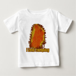 I Love Camping Smoldering Smoke T Shirt