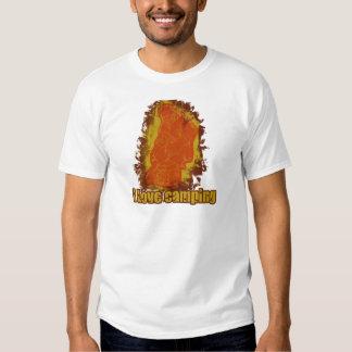 I Love Camping Smoldering Smoke T-shirt