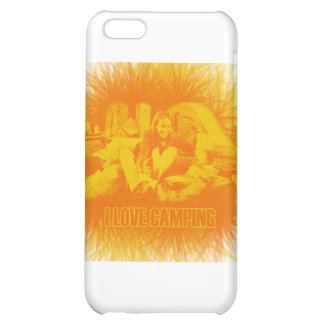 I Love Camping Sunny Days Cover For iPhone 5C