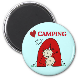 I Love Camping Tshirts and Gifts Magnets