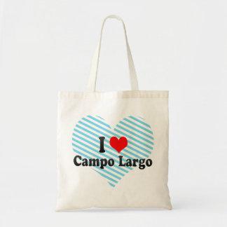 I Love Campo Largo, Brazil Tote Bag