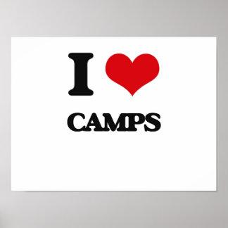 I love Camps Print