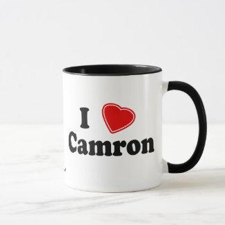 I Love Camron Mug
