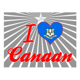 I Love Canaan, Connecticut Post Cards