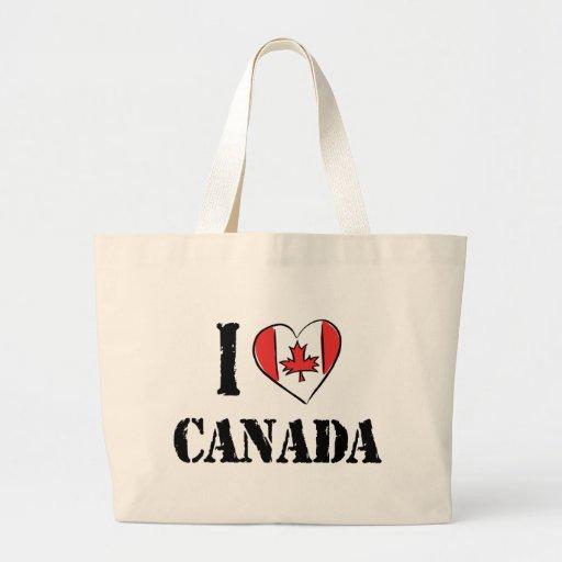 I Love Canada Bag