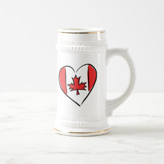 I Love Canada Beer Stein