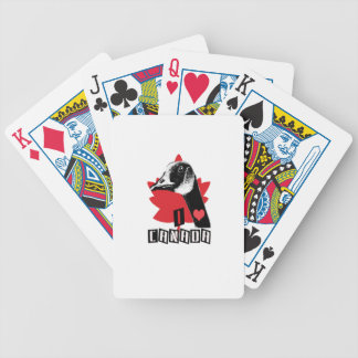 I Love Canada Bicycle Playing Cards
