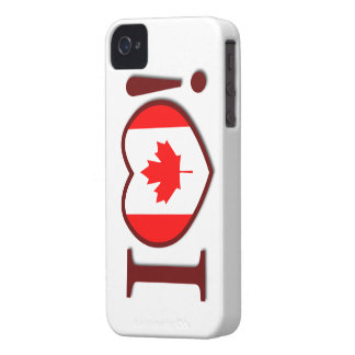 I Love Canada BlackBerry Bold Case
