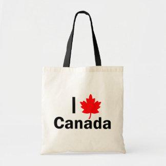 I love Canada Budget Tote Bag