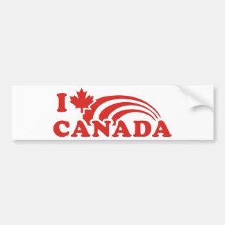 I love Canada Bumper Sticker