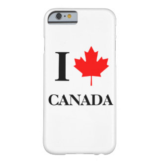 I Love Canada Barely There iPhone 6 Case