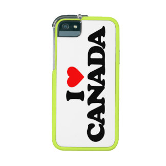 I LOVE CANADA iPhone 5/5S COVERS