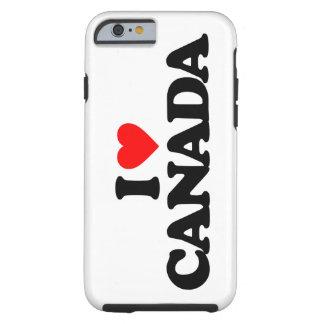 I LOVE CANADA TOUGH iPhone 6 CASE