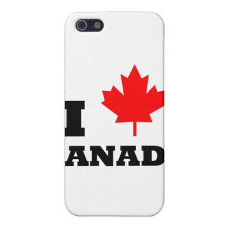I Love Canada Case For iPhone SE/5/5s