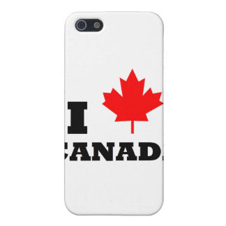 I Love Canada Cover For iPhone SE/5/5s