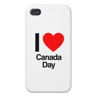 i love canada day cover for iPhone 4
