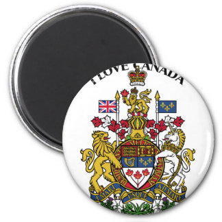 I LOVE CANADA-DESIGN 1 FROM 933958STORE REFRIGERATOR MAGNET