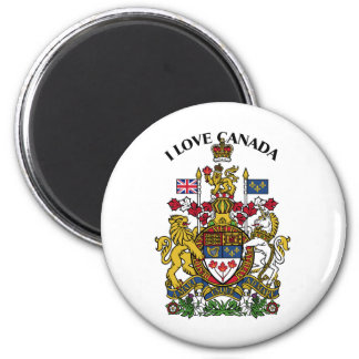 I LOVE CANADA-DESIGN 1 FROM 933958STORE MAGNET
