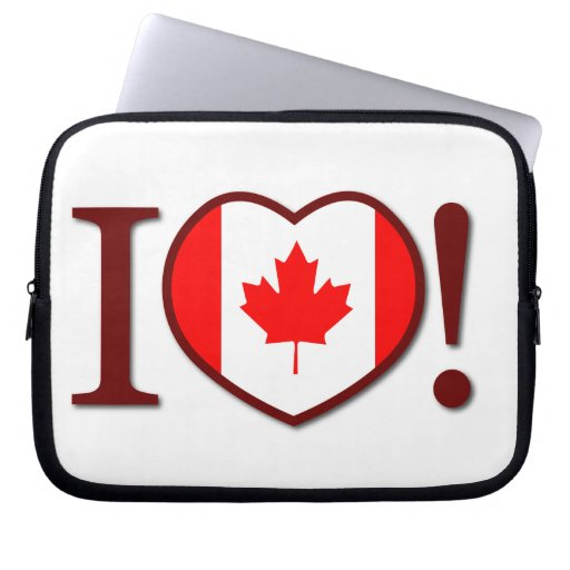 I Love Canada Electronic Sleeve / Case Computer Sleeve